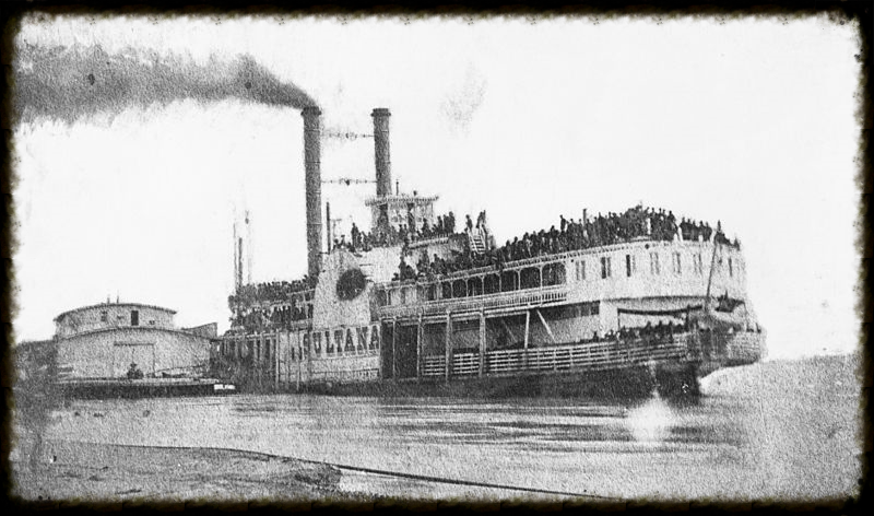 Photograph of the Sultana in 1865