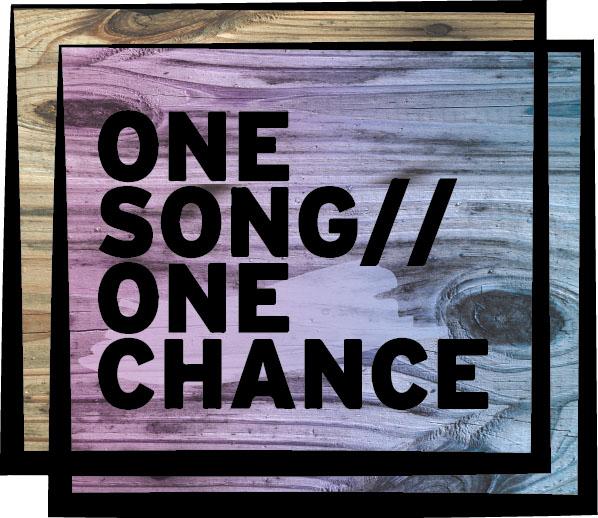 www.facebook.com/OneSongOneChance