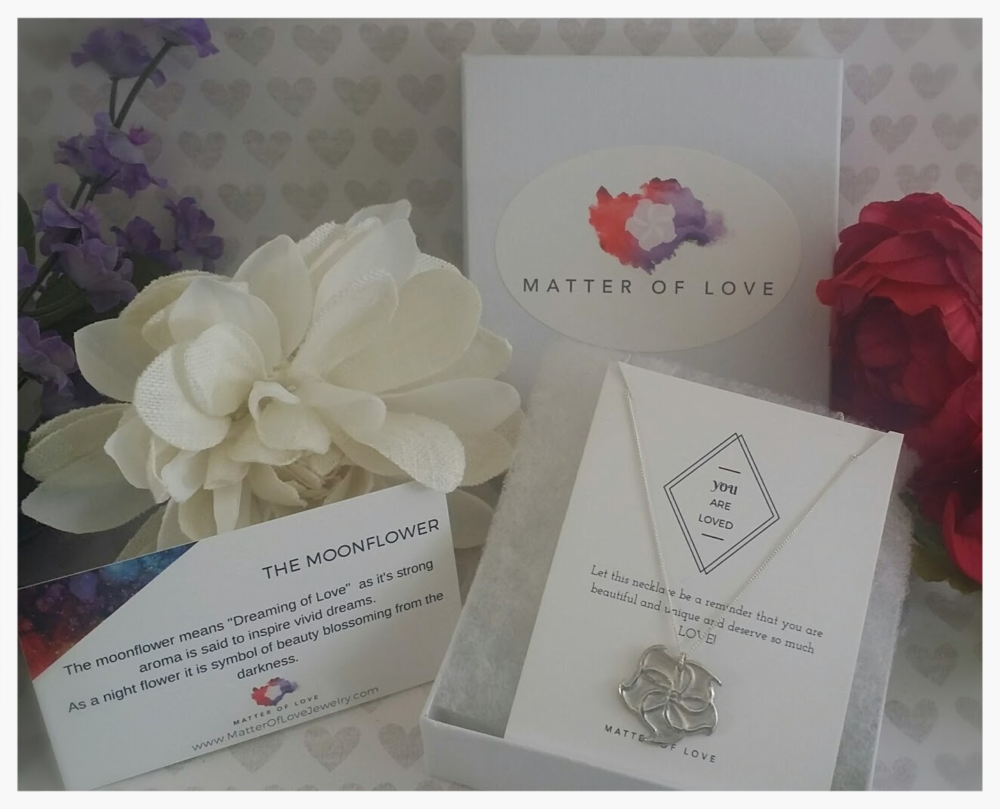 All jewelry will come boxed with a product card and informational card explaining the meaning behind your piece.
