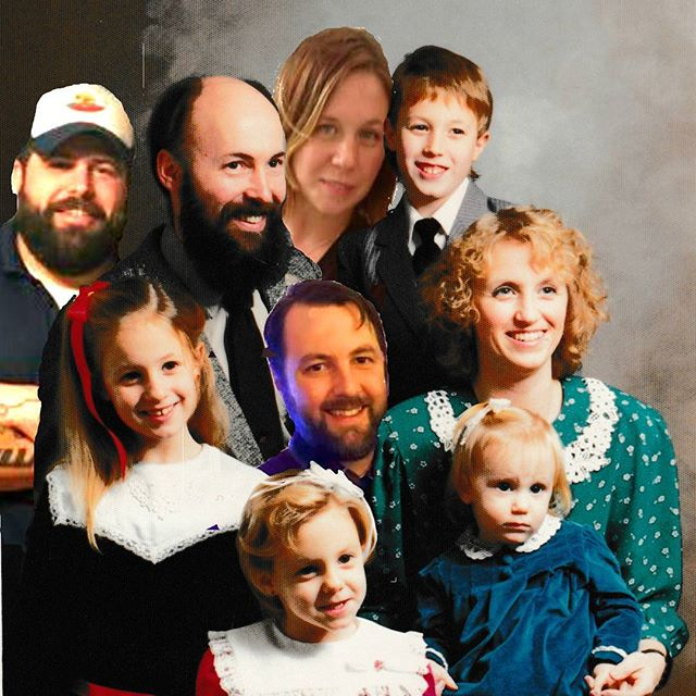 Our most recent family portrait.
