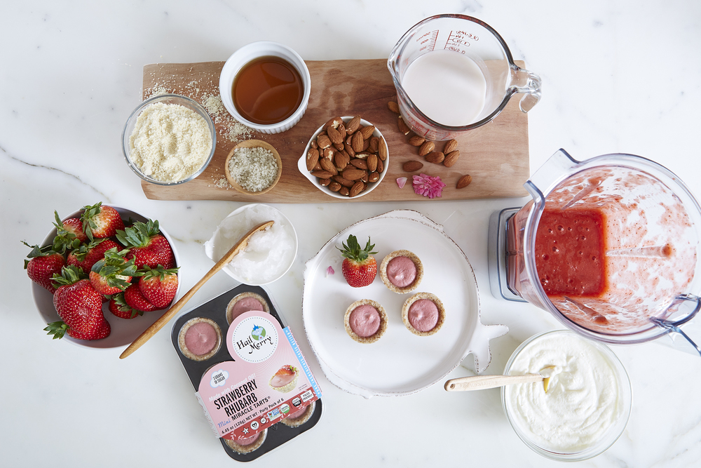 Strawberry Mini Tarts Ingredients Aerial View.jpg