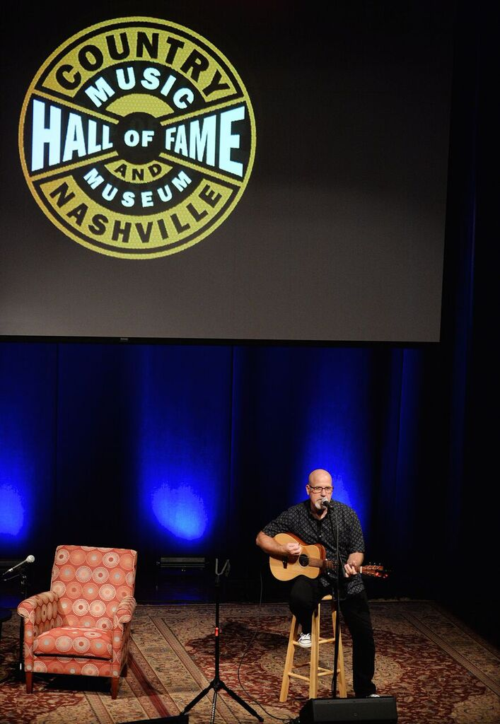Jeff performing at the Country Music Hall of Fame