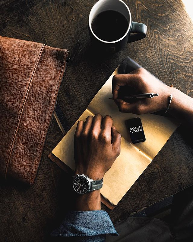 • Workspace Necessities • These type of vibes never get old • Preparing for the week, getting back on track! ☕️ 🖊  #TheHandsomeGuyde #StayFocus #TrustTheProcess #ad #LTKstyletip #LTKmens #LTKfit #liketkit @liketoknow.it http://liketk.it/2w6pg  Watch by: @timex // MK1 Stainless Chrono  Pen by: @zebrapen_usa  Cologne by: @solidstateformen