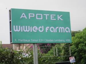 Apotik Wiwied Farma, Desa Lembang