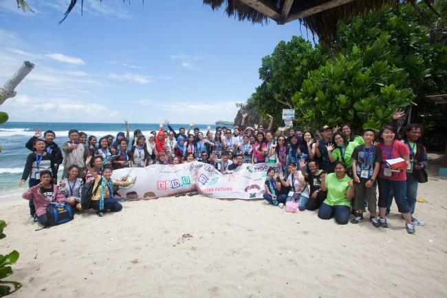 Youth Speakers at Somandeng Beach