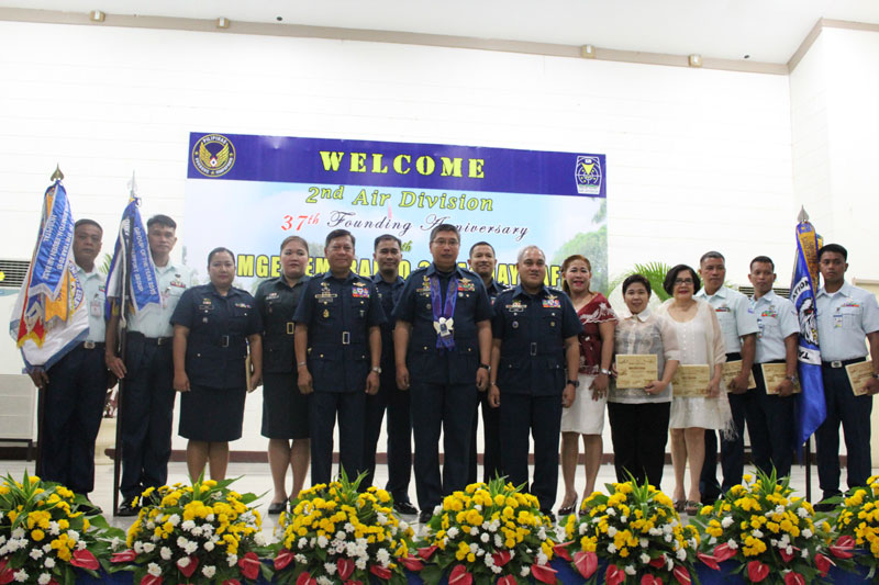 Awardees Honored by the 2nd Air Division, Philippine Air Force