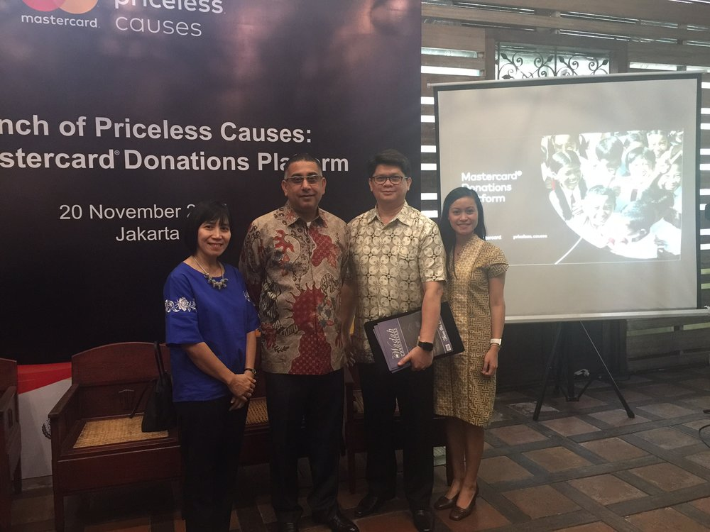 Mastercard Priceless Causes Wadah Foundation