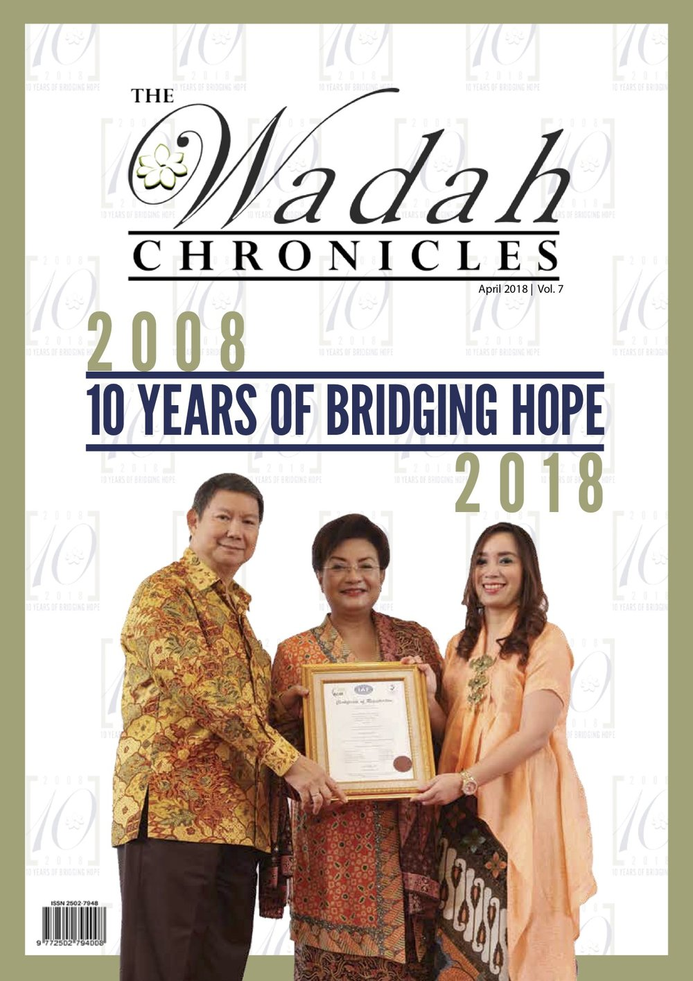 Wadah Chronicles - April 2018