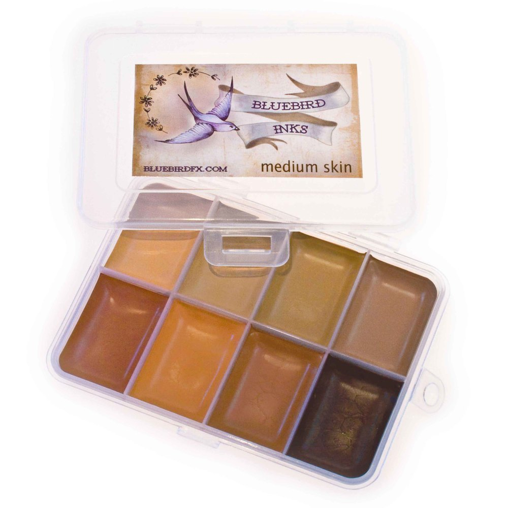 go to Medium Skin colour chart