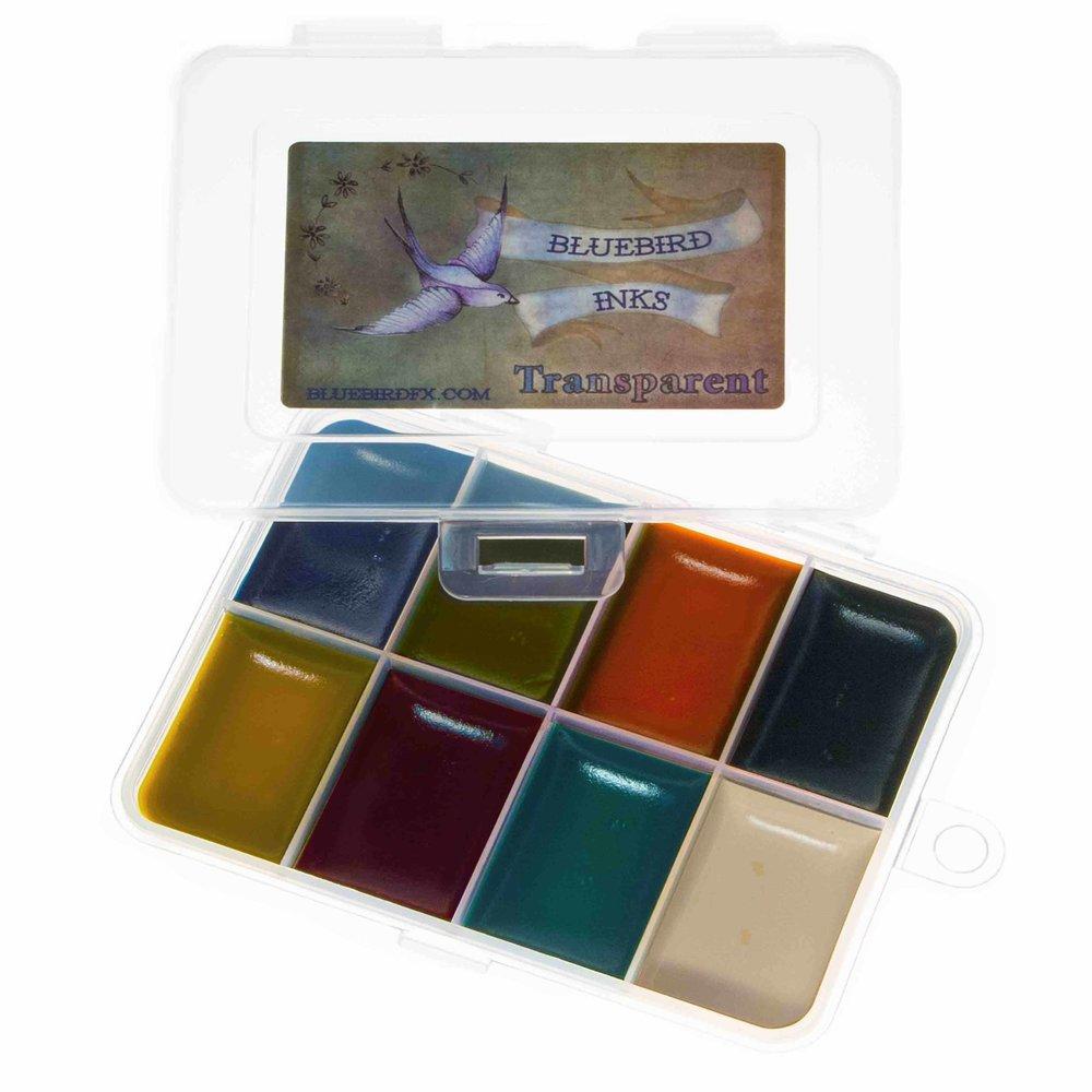 go to Transparent colour chart