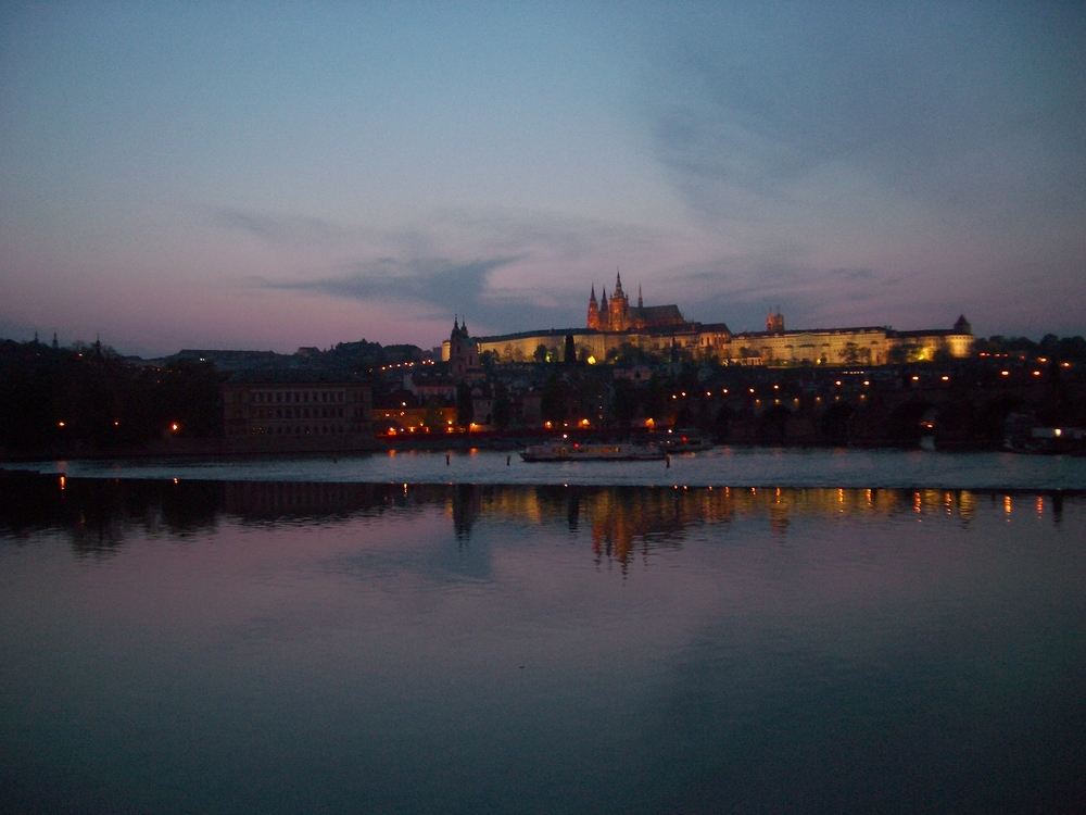 Prague Castle from the Vltava River