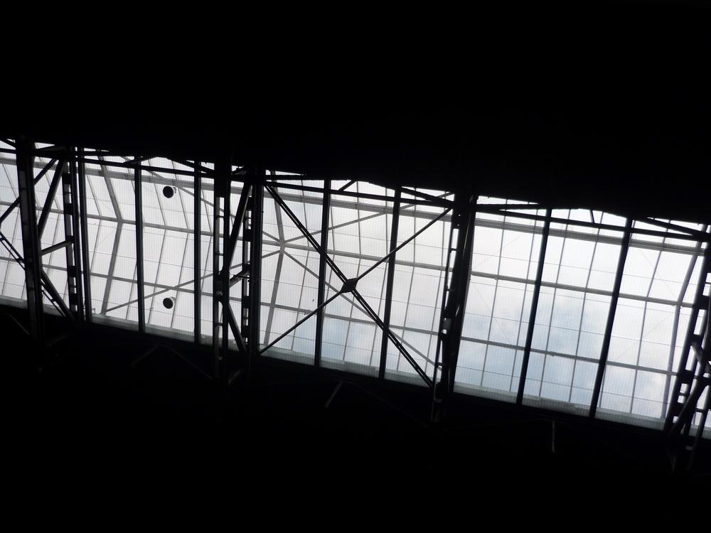 Sky, glass and steel