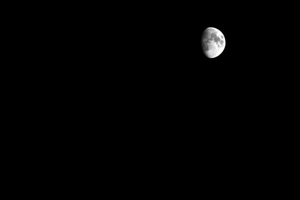 Moon over LA