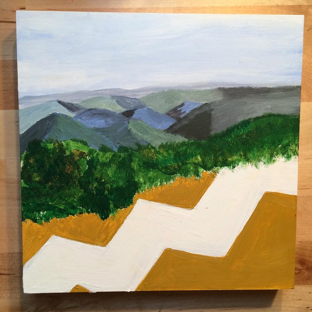 Blue Ridge/Yellow Lines