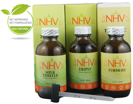 $113.85      NHV Naturals: Renal Kit for Dogs    (Tripsy, Milk Thistle, Turmeric)