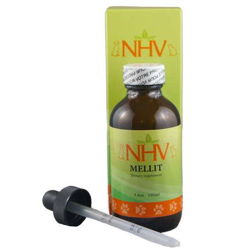 $39.95                                NHV Naturals: Mellit for Dogs                              -Helps manage blood sugar levels                           -Aids circulation and supports healing                           -Contributes to improved energy and                                      vitality in your dog                            -Supports healthy cholesterol levels