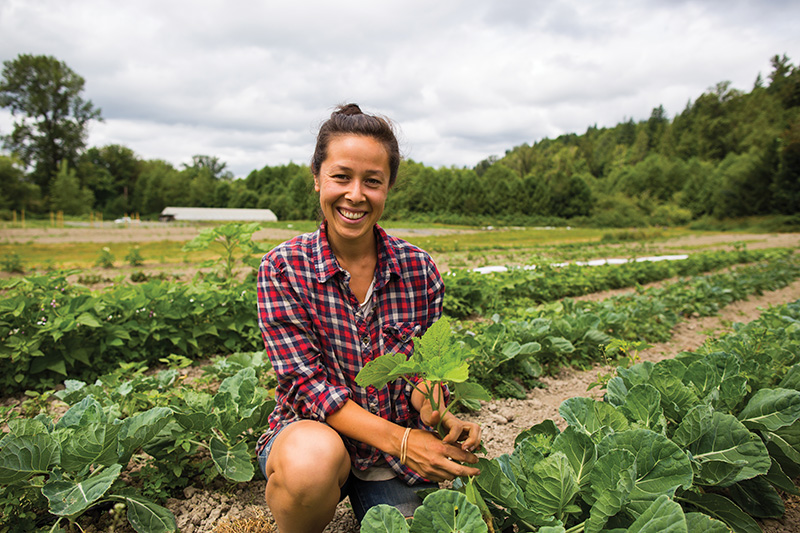 Photo by Audra Mulkern of the Female Farmer Project