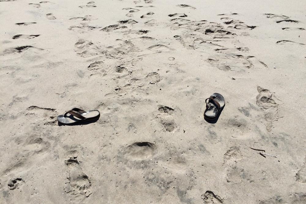 beach dumping