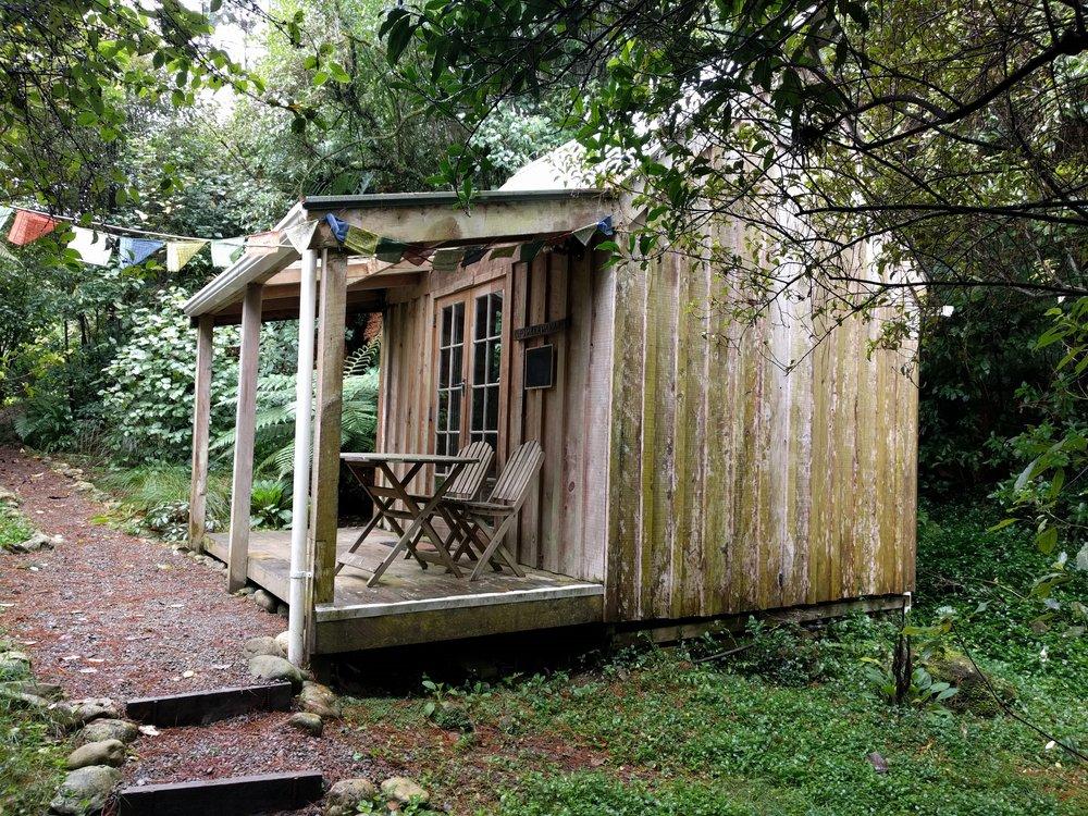 The Piwakawaka cabin!