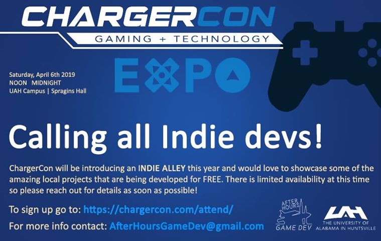 image is property of the After Hours Game Dev Group in Huntsville, AL