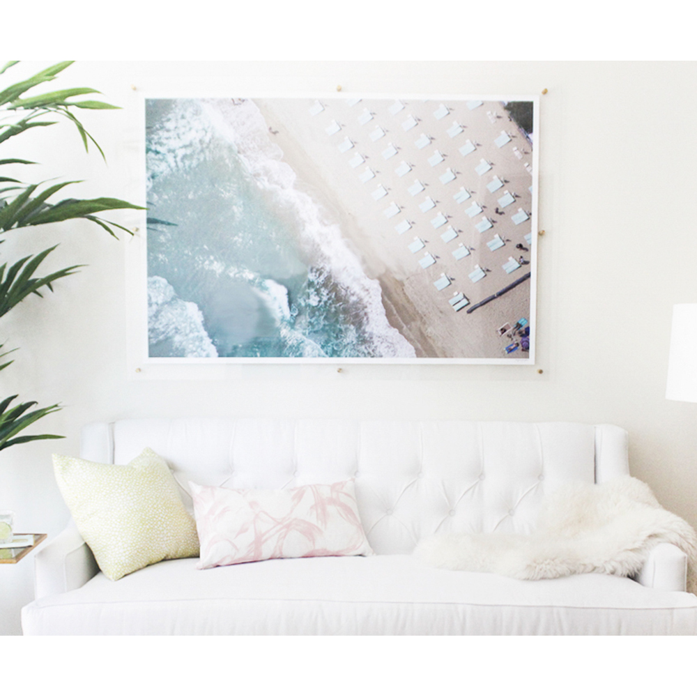 Oversized Acrylic Frame DIY with Gray Malin — Jana Bek Design