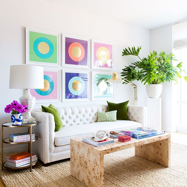 Rise & shine it's @oneroomchallenge reveal time! I love how our Brooklyn apartment came together, it's bright, bold, and so cozy! Swipe for the before of this space & head to the blog for the full tour (including our lush bedroom)! Photography by @lindseabrown & styling help by my talented friend, @olganaiman  Be sure to check out the other participant's reveals at links below!  @athomewithashley @casavilora @casework.it @thefarmhouseproject @homemadebycarmona @houseoffunkdesign @houseofjadeinteriors @housesevendesign @houselarsbuilt @imjessicabrigham @inspiredbycharm @thepinkpagoda  @kellygolightly @murphydeesign @thepinkpagoda @sarahgunnstyle @sarahmdorseydesigns @sherryhdesigns @sugarandcloth @vintagerevivals @betterhomesandgardens @oneroomchallenge #oneroomchallenge #BHGORC #janabekdesign #myhome