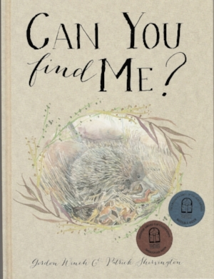 Can You Find Me? selected as a Notable Book for 2018 by the CBCA and shortlisted for a Crichton Award for illustration.