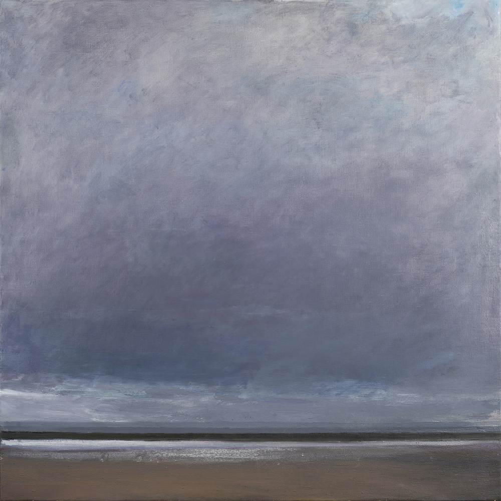 Squall, 100 x 100 cm, oil on linen