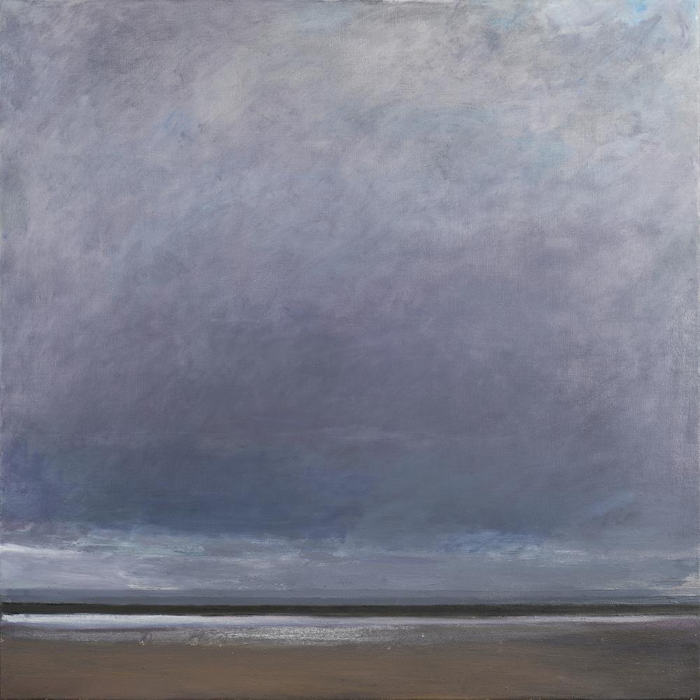 Squall, 100 x 100 cm, oil on linen