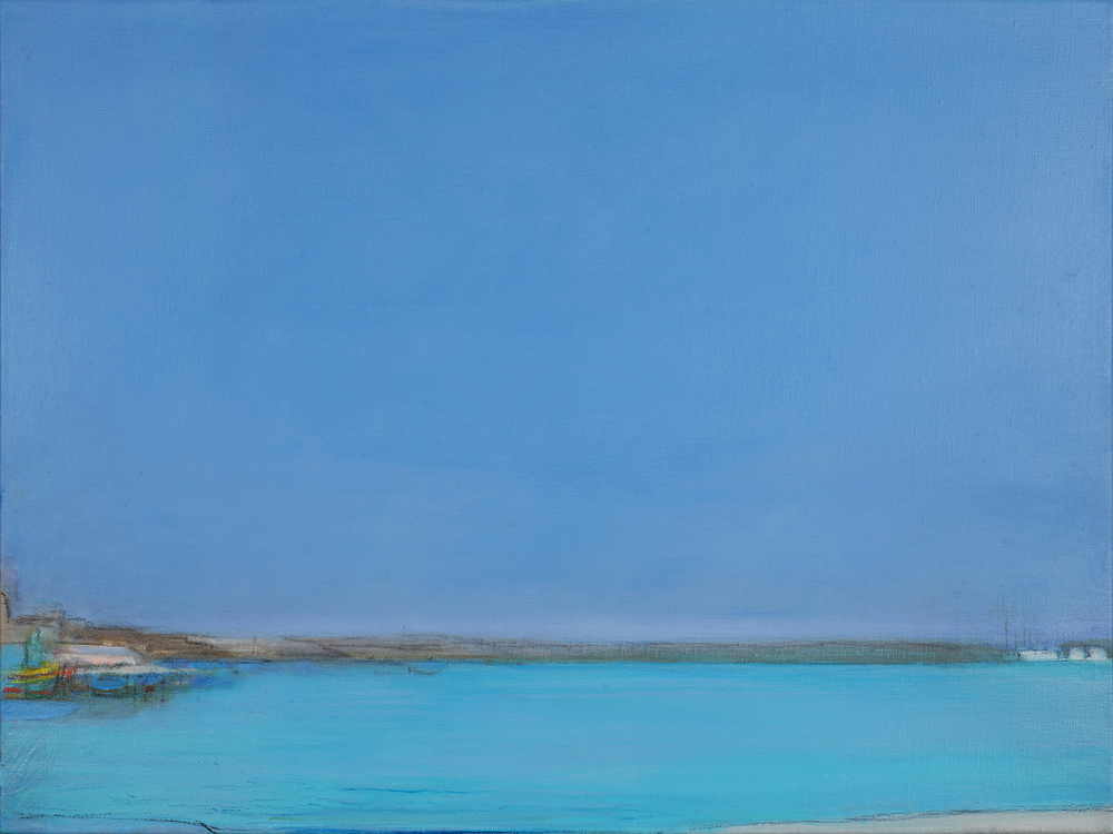 Holiday Blue, 60 x 80 cm, oil on linen, Private Collection