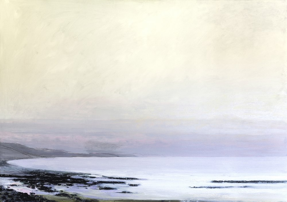 Mist 100 x 140 cm, oil on linen, 2016, Private Collection