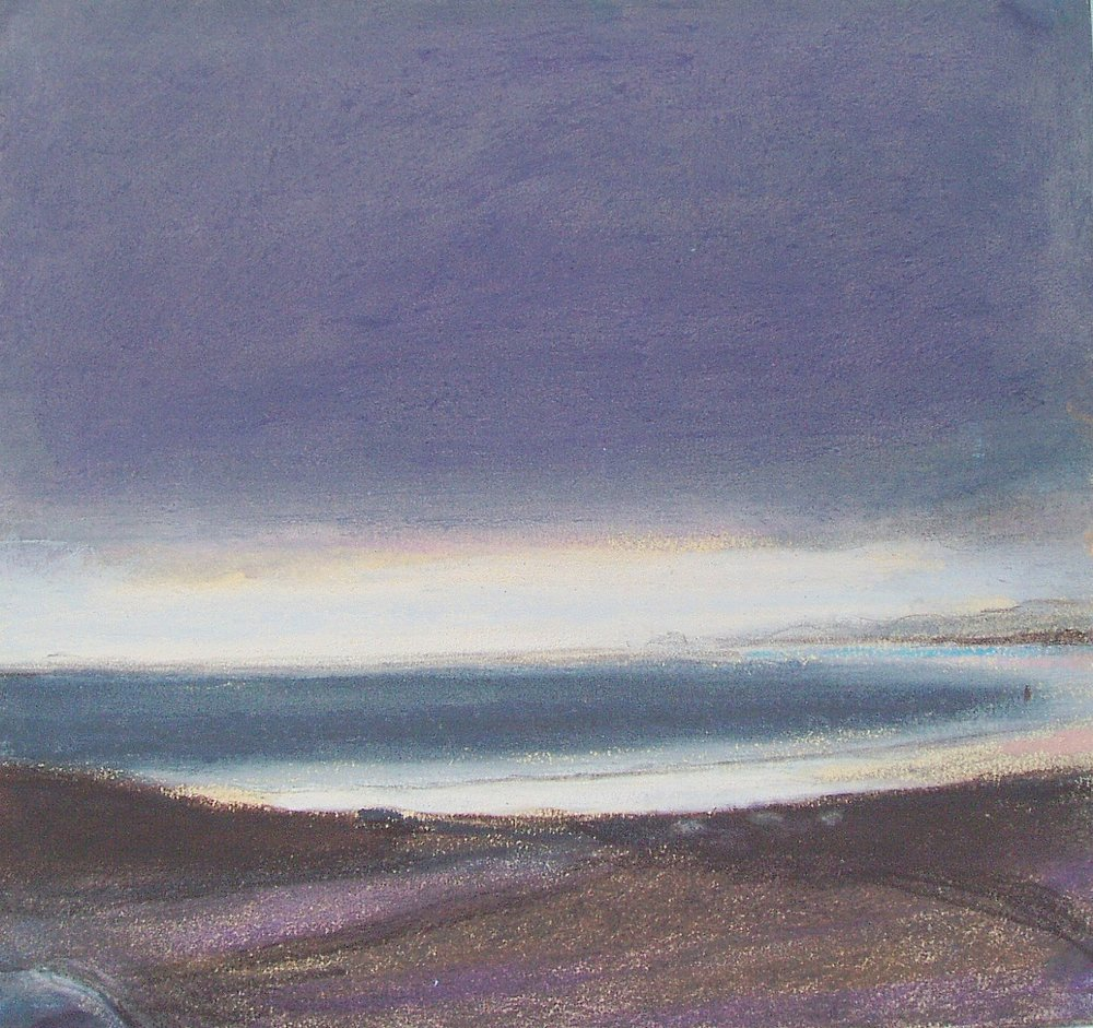 Slate Grey Seascape