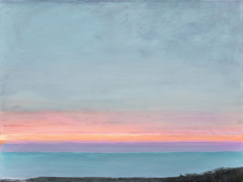 Planet's Edge, oil on linen, 60 x 80 cm, 2017