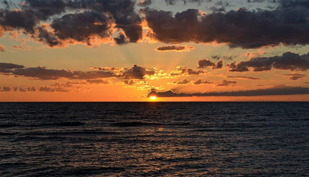 Amazing sunset in Ygne, Gotland