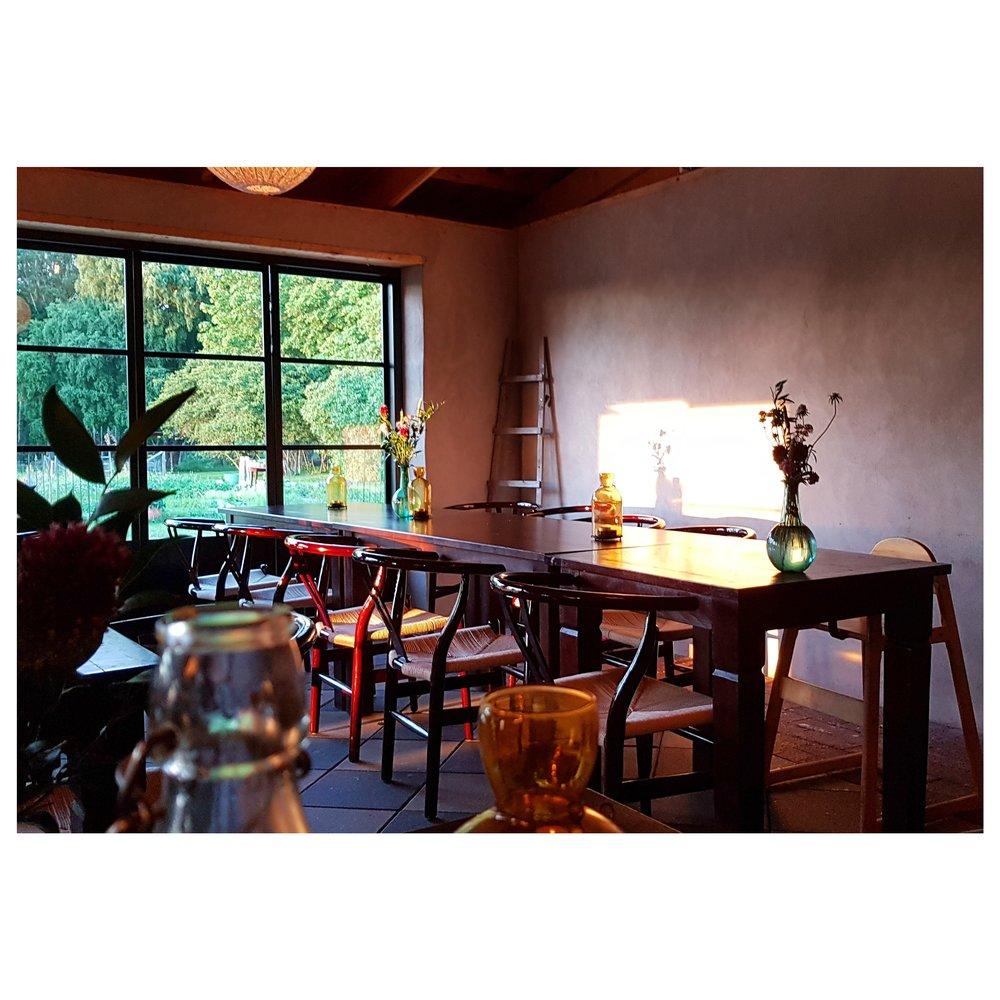 Dining room at Hotel Stelor