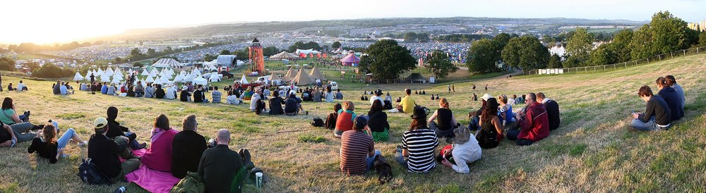 Glastonbury Festival takes place in Somerset. (Photo/Wikipedia)