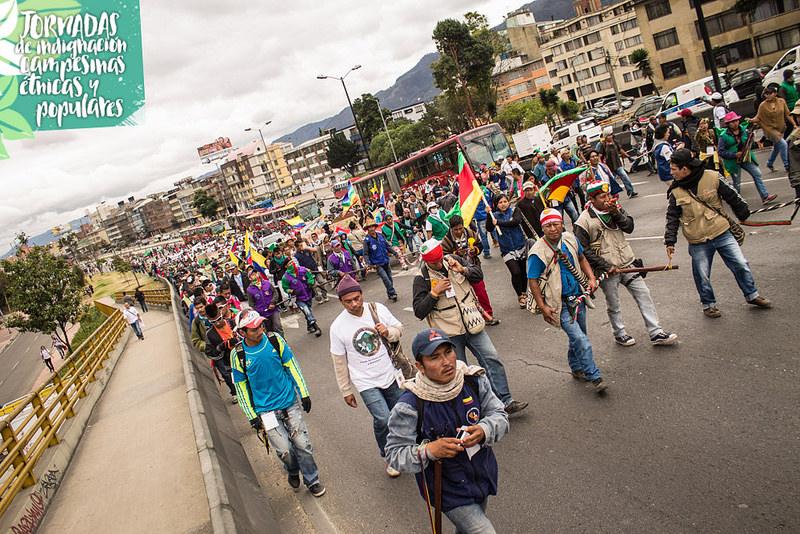 Photograph:  Congreso de los Pueblos