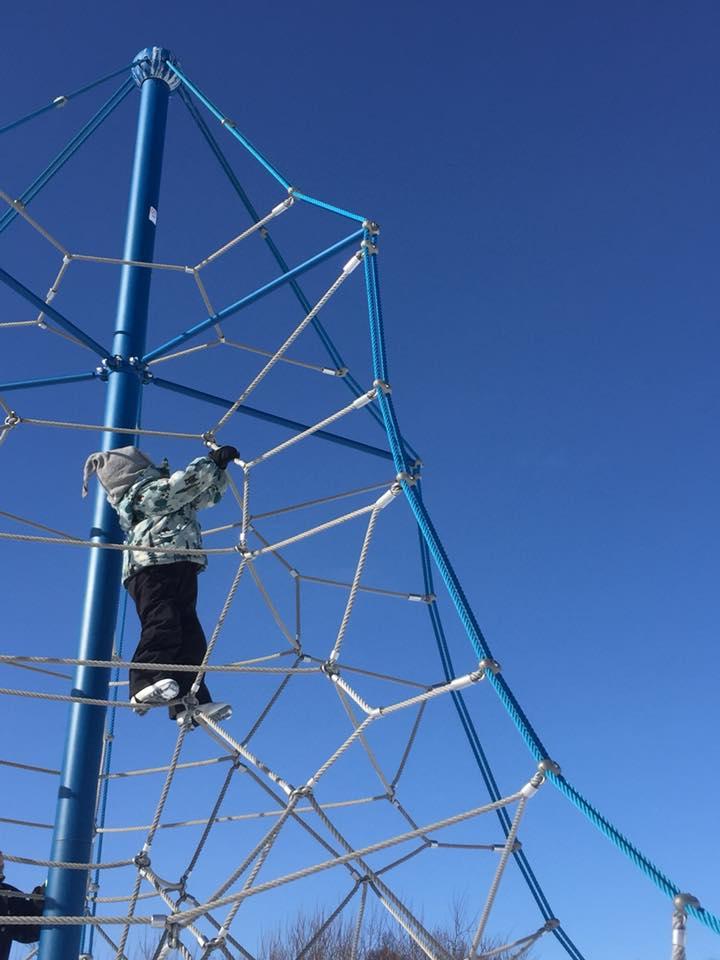 bildeSigne klatrer på Charlottenlund.jpg