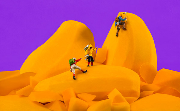 Sagmeister & Walsh campaign for Frooti mango juice
