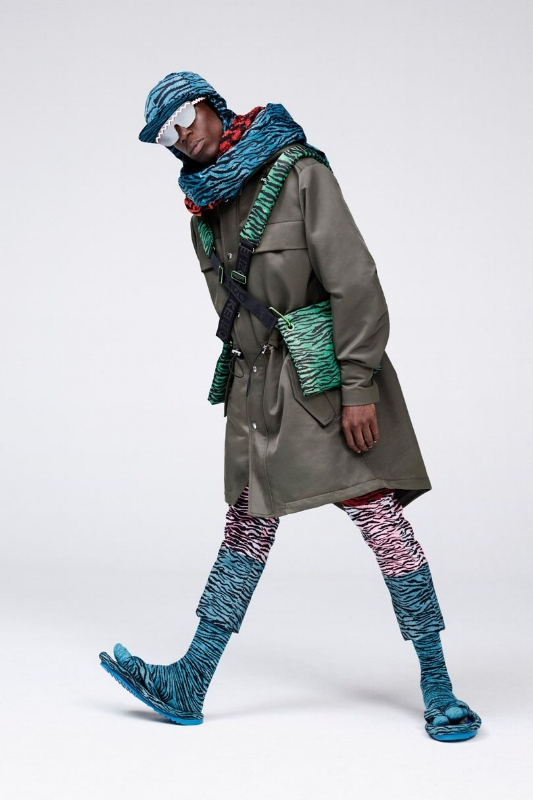 H&M Collaboration with Kenzo, photographed by Jean Paul Goude