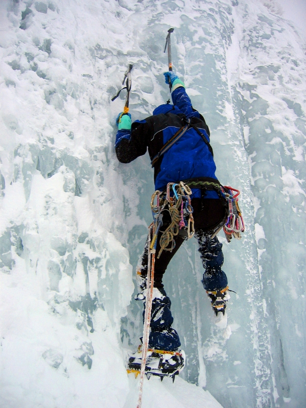 Ice climber image by Wikimedia Foundation