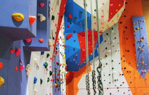 Pickaquoy sports centre climbing wall
