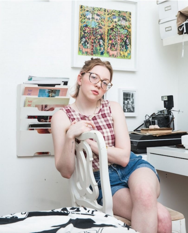 "Zora Sicher photographed by Keith Morrison for  Prote.in  article ""Why the stereotypical view of teenagers is out of date"""