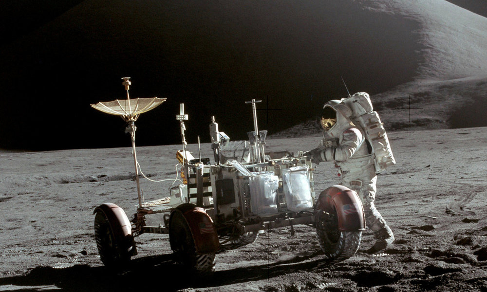 Apollo 15 mission.  Photo NASA