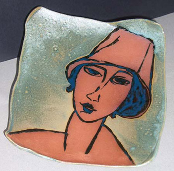 Modigliani Inspired Platter