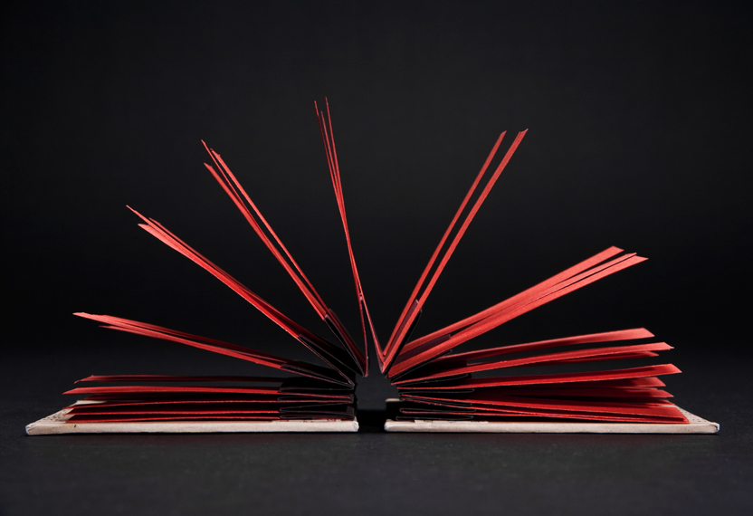 Kinetic Book Sculpture