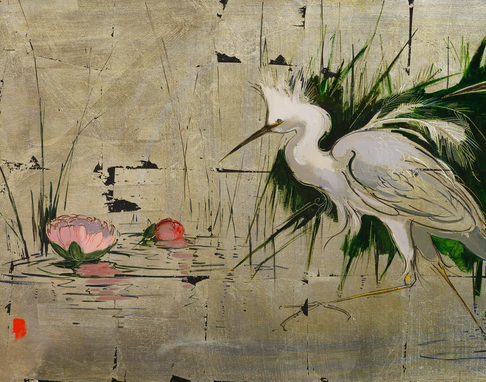 Stalking Egrets