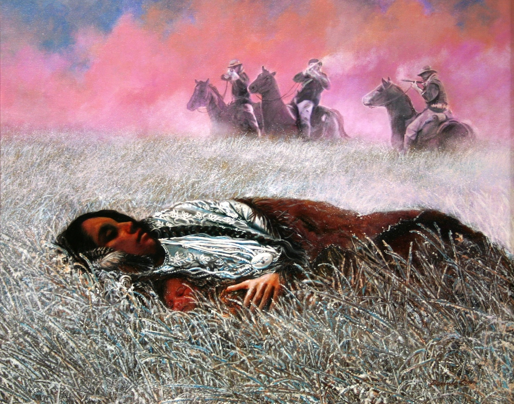 Dennis Linn,  Lost Bird of Wounded Knee