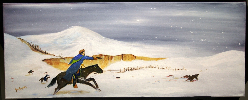 Lynn Burnette,  Wounded Knee
