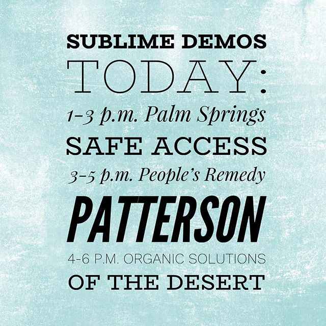 All but one, get one for $1 on cartridges. Ahhhh Thursday—the almost weekend. @palmspringsaccess @tprpatterson @organicsolutionsosd  #sublimecanna